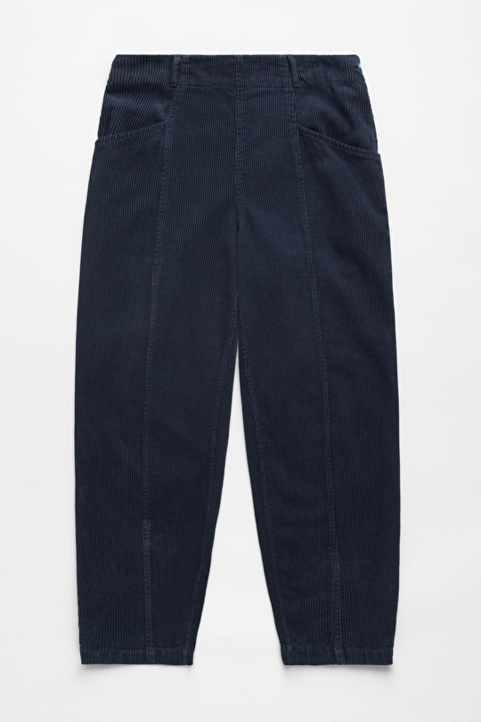 Blackberry Wine Trousers, Soft Wide Cords - Seasalt