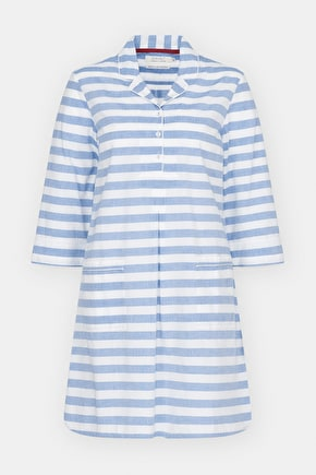 Bay View Nighty - Organic Cotton Nightshirt - Seasalt