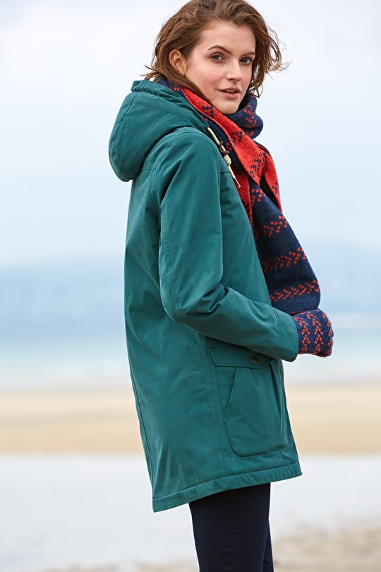 Quilted Winter Coat. Tested On Cornish Cliff Tops - Seasalt