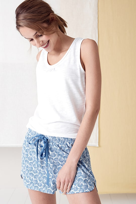 Reflective Pyjama Pool Shorts - Seasalt