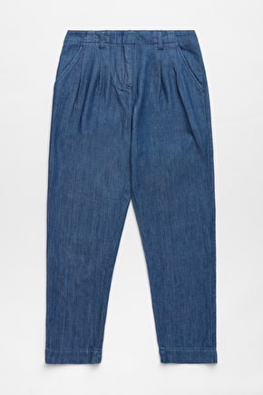 Marsh Harrier Trousers, Denim & Tapered Fit - Seasalt Cornwall