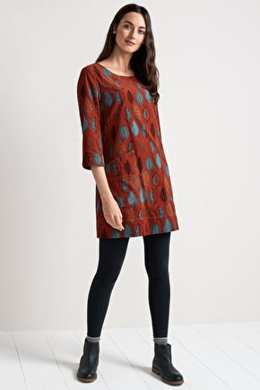 Boat Yard Tunic. Beautifully Soft Cord Tunic Top - Seasalt