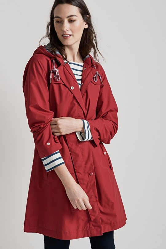 Drizzledays Jacket | A-line Coat |  Seasalt