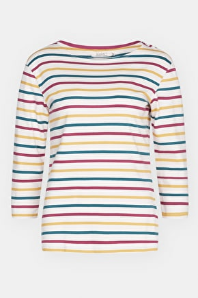 2 for £40 Organic Cotton Breton Stripe Tops - Seasalt