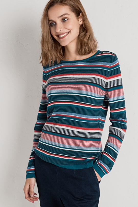 Uplands Jumper | Cotton wool sweater | Seasalt