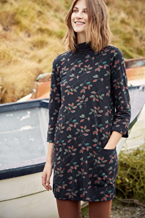 Cape Cornwall Tunic, Organic Cotton Jersey Tunic - Seasalt Cornwall