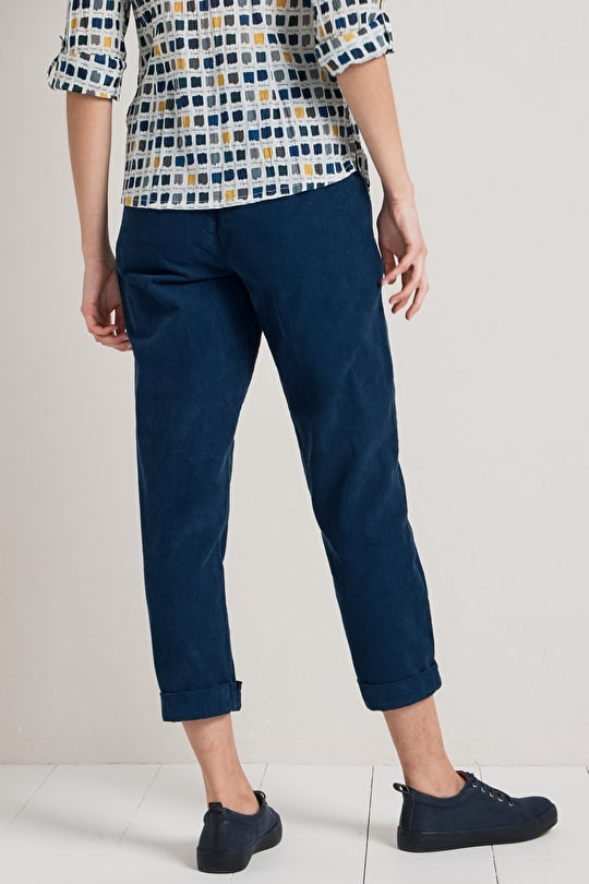 Relaxed Fit, Famously Soft Needlecord Trousers - Seasalt