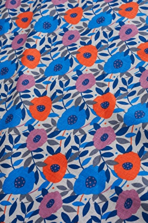 Printed Linen Fabric - Seasalt Cornwall