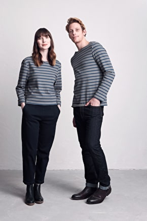 Breton Striped Sailor Shirt, Long Sleeve Top - Seasalt