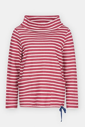 Low Seas Sweatshirt, Cotton Nautical Striped Jumper  - Seasalt