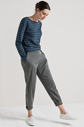 Cotton and Tencel Sancreed Trousers - Seasalt