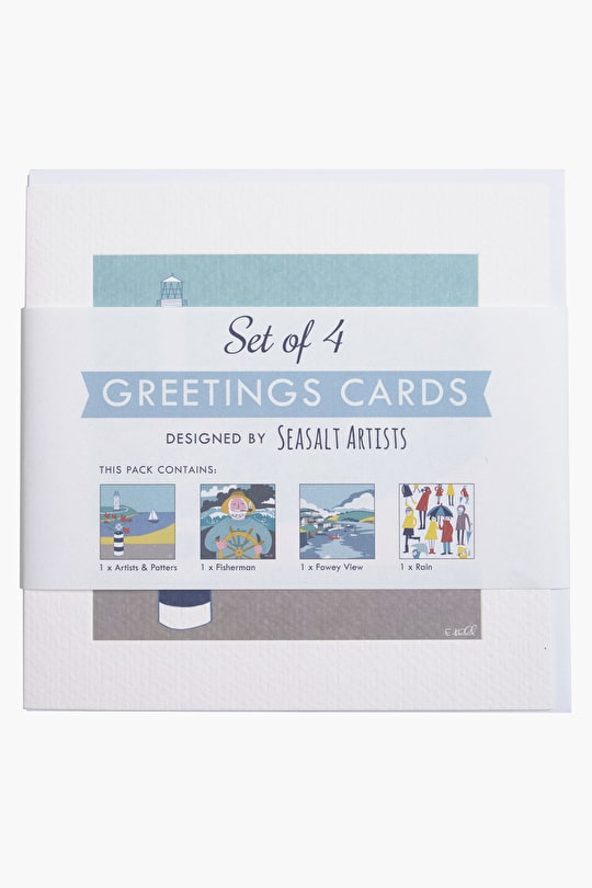 Greetings Cards - Pack of 4