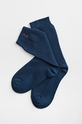 Slouchy Socks with Organic Cotton - Seasalt