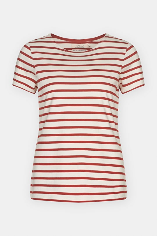 The original Sailor T-shirt, Cotton Breton Striped Top - Seasalt