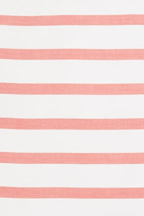 Luxury 100% Cotton Striped Pillowcase - Seasalt
