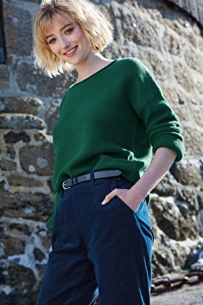 Fruity Jumper - Stylishly Oversized. In Soft Merino & Seasalt Colours