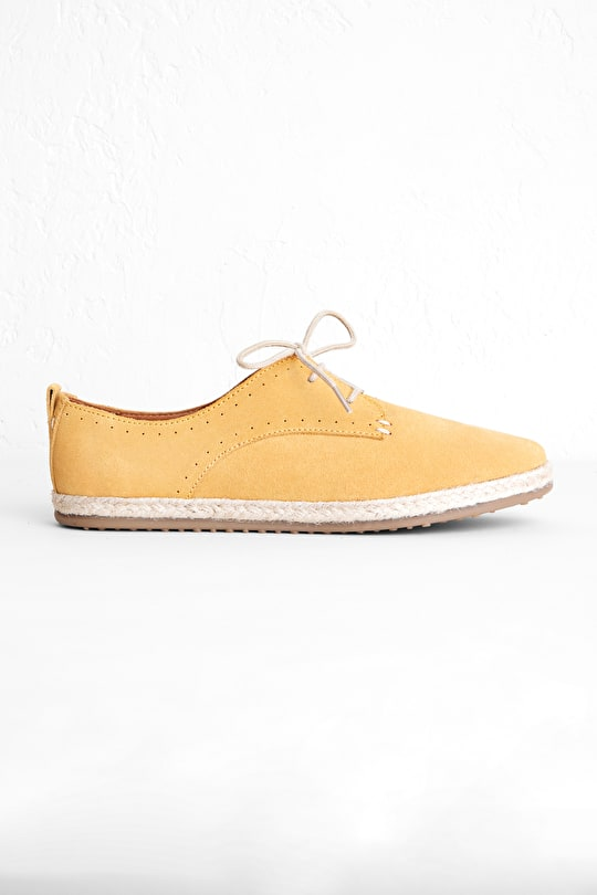 Anchorage Suede Shoe, Espadrille Style - Seasalt