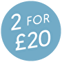 2 for £20