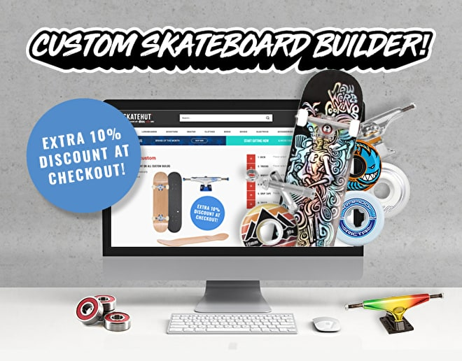 SkateHut's Custom Skateboard Builder