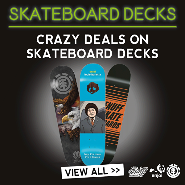 Black Friday Skateboard Decks