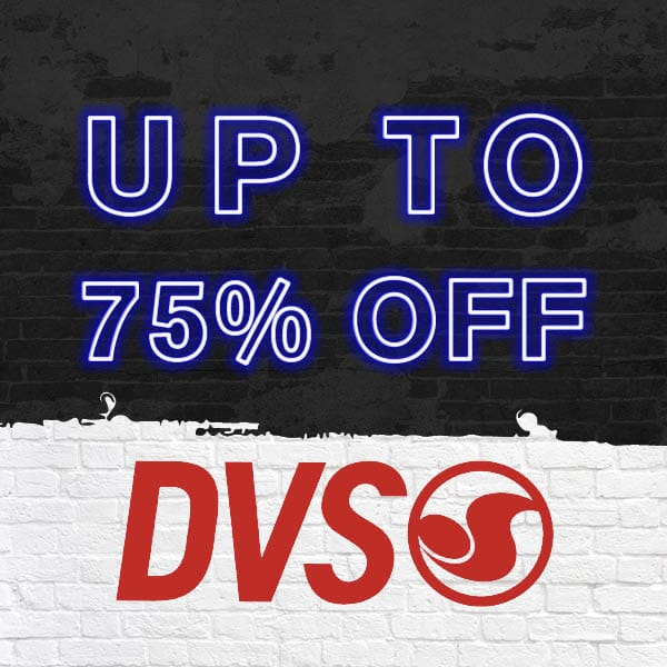 Up to 75% Off DVS