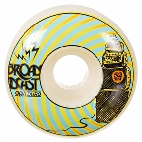 Broadcast Skateboard Wheels - Repeaters 99a 52mm