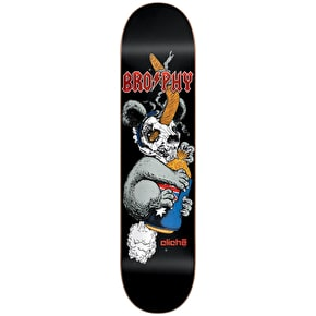 Cliche Tribute Koala R7 Skateboard Deck - Brophy 8