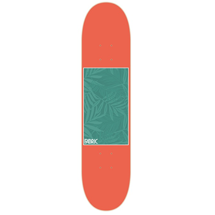 Fabric Fronescence Skateboard Deck - Grapefruit 7.75""
