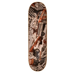 Creature Strait To Hell Skateboard Deck - Gravette 8.26''