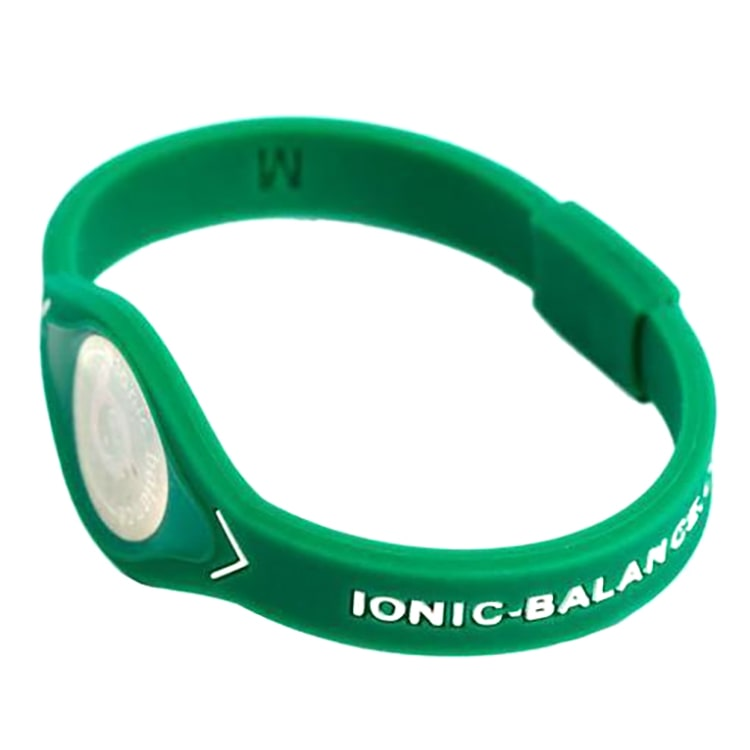 Team Ionic Band Green and White