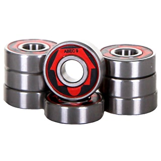 SkateHut ABEC 9 Bearings (Pack of 8)