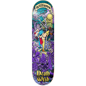 Deathwish Skateboard Deck - Story Time Williams 8.38