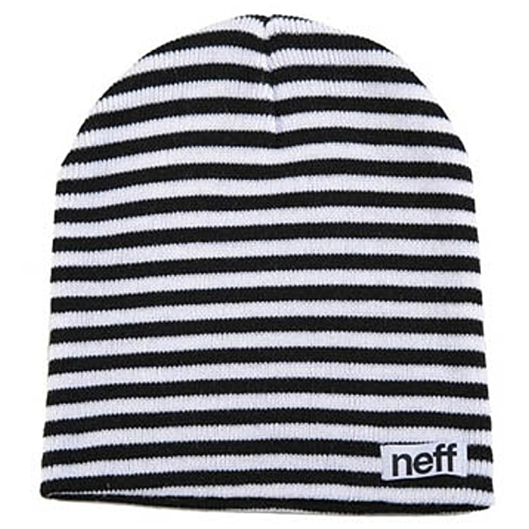 Neff Duo Stripe Beanie - Black/White