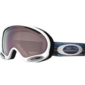 Oakley A-Frame 2.0 Snow Goggles - Ripped n Torn/Violet Iridium