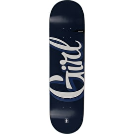 Girl Sign Painter Skateboard Deck - Sean Malto 8.25