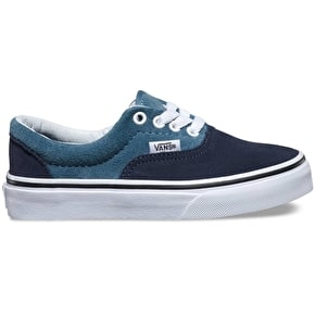 Vans Era Kids Skate Shoes - (Suede) Blue Mirage/Parisian Night