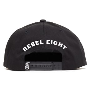 Rebel8 Special Operations Snapback Cap - Black