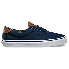 Vans Era 59 Skate Shoes - (C&L) Dress Blues/Material Mix