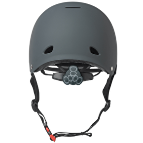 Triple 8 Gotham Helmet - Gun Grey Rubber
