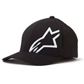 Alpinestars Corp Shift 2 Flexifit Cap - Black/White