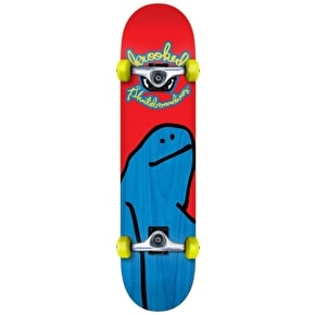 Krooked Live Fast Dye Shmoo Complete Skateboard - 7.75