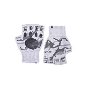 Grizzly Fingerless Gloves - Grey
