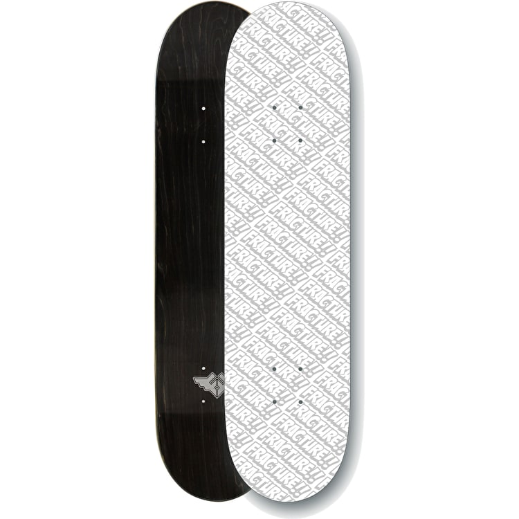 """Fracture All Over Comic Skateboard Deck - White 8"""""""