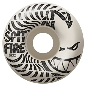 Spitfire Low Downs Skateboard Wheels - White