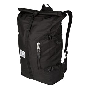 Poler Classic Roll Top Bag Backpack - Black