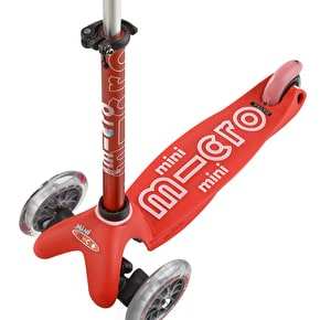 Mini Micro Deluxe Complete Scooter - Red