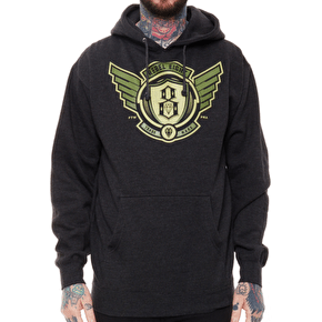 Rebel8 Avi8tor Hoodie - Charcoal Heather