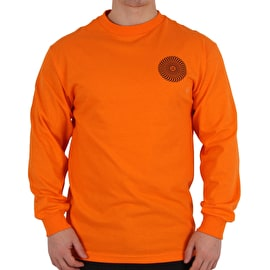 Spitfire Covert Classic Longsleeve T-Shirt - Orange/Black