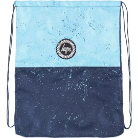 Hype Split Drawstring Bag - Blue