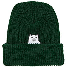 RIPNDIP Lord Nermal Rib Beanie - Hunter Green